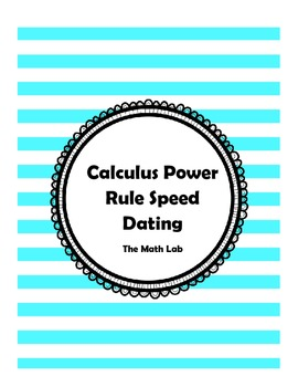 Derivative Power Rule Speed Dating