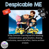 Descipable Me  Using the movie to teach characterization,