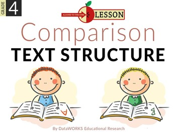 Describe Comparison Text Structure