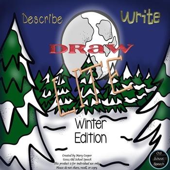 Describe Write Draw Winter Version: LITE