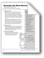 Describe the Main Character (Book Report Form)