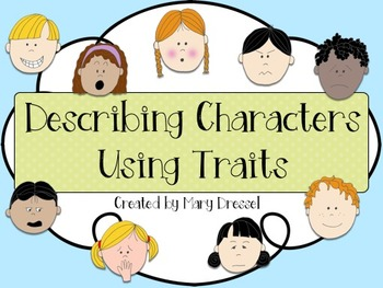 Describing Characters Using Traits