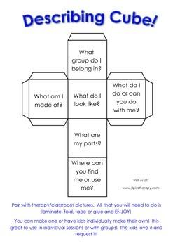 Describing Cube