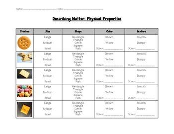Physical Science: Describing Matter