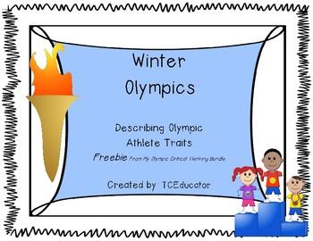 Describing Olympic Athlete Traits