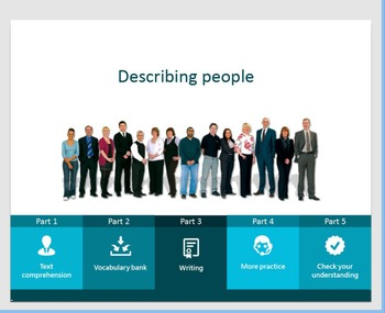 Describing People (interactive activity)