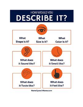 Describing Worksheet