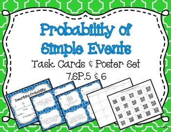 Describing and Determining Probability in Simple Events ~C