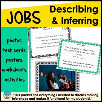 Describing and Inferring Activities: Occupations