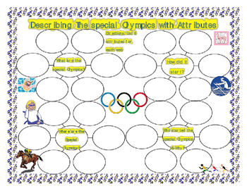Describing the Special Olympics with Attributes