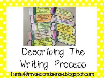Describing the Writing Process (Freebie)