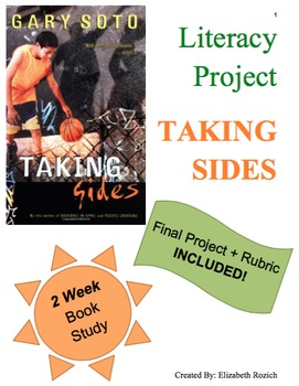 Descriptive Narrative Book Study: Taking Sides by Gary Sot