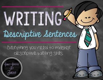 Descriptive Sentences {A mini packet}