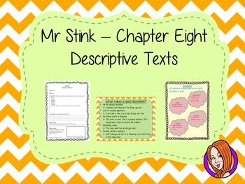 Descriptive Texts  – Mr Stink