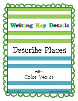Descriptive Writing - Key Details