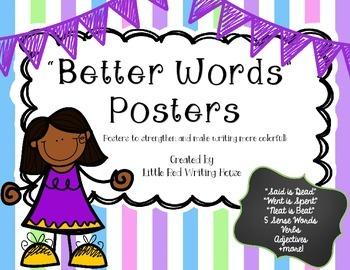 Descriptive Writing: BANG! Words Posters