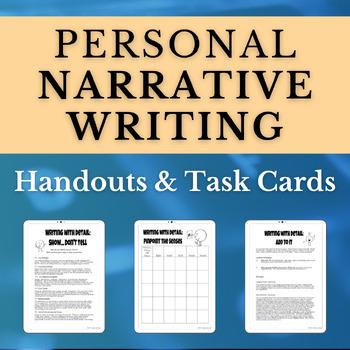 Personal Narrative Writing Handouts