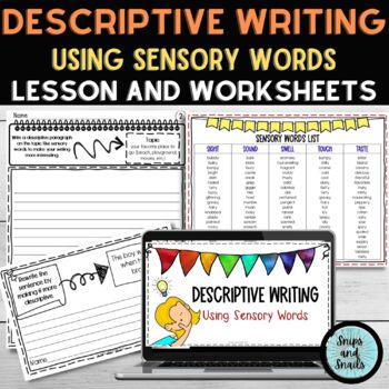 Descriptive Writing Powerpoint and Instructional Resources