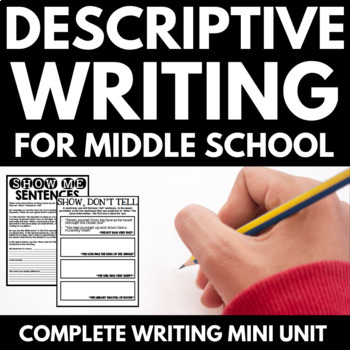 Descriptive Writing Unit with Graphic Organizers