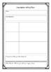 Descriptive Writing Planner