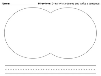 Descriptive Writing Prompt - Draw What You See
