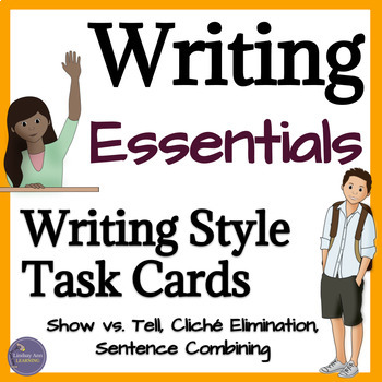 Writing Style Task Cards