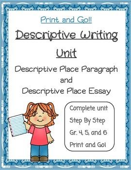 Descriptive Writing Unit: Setting
