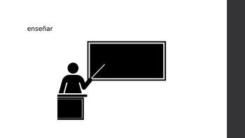 Descubre 1 - Leccion 2.2 - Verb Vocab PPT
