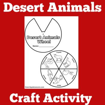 Desert Animals Activity