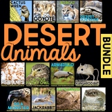 Desert Animals: Informational Article, QR Code Research Pa