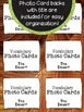 Desert Vocabulary Photo Flashcards