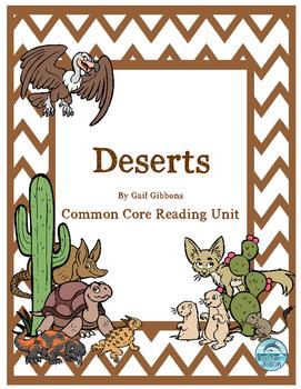 Deserts Common Core Reading Unit