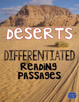 Deserts Differentiated Activities