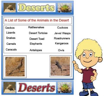 Deserts - Science (No Prep) PDF File