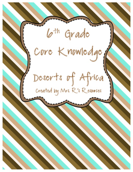 Deserts of Africa (CK-World Deserts)