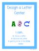 Design A Letter Library Center
