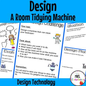 Technology Design - Design a Room Tidying Machine