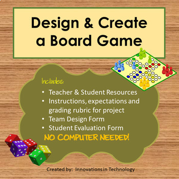 Design & Create a Board Game