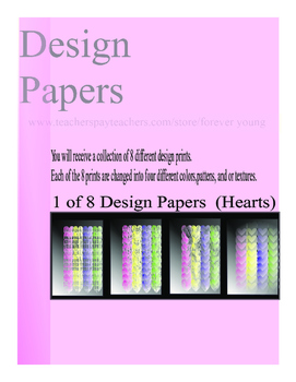 Design Papers (Colors - Designs - Textures)