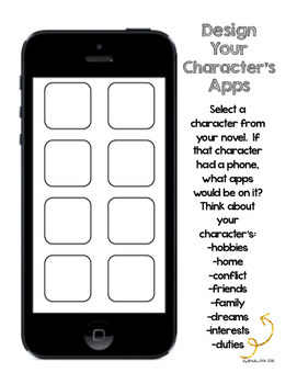 Design Your Character's iPhone Apps