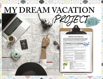 Design Your Dream Vacation ISU Project