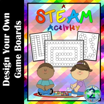Design Your Own Game Boards: A STEAM Activity