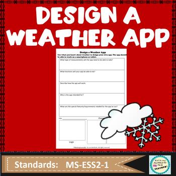 Design A Weather App STEM Lesson