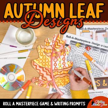 Design an Autumn Leaf Game {Fall Activities & Art Sub Plans}