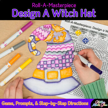Design a Halloween Witch Hat Game - Bulletin Board Ideas -