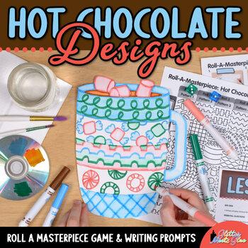 Design a Hot Chocolate Game {Winter Craftivity & Art Sub Plans}
