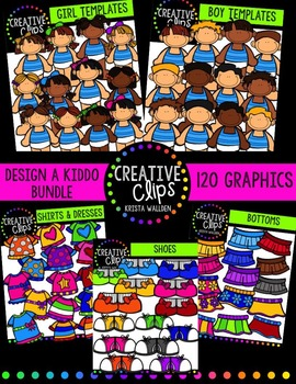 Design a Kiddo Starter Bundle {Creative Clips Digital Clipart}
