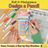 Design a Pencil Game {Back to School Ideas and Art Sub Pla