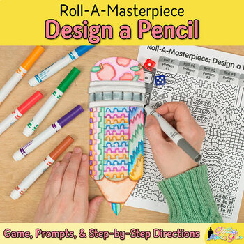 Design a Pencil Game - Back to School Ideas - Art Sub Plan