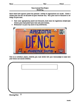 Sports Marketing & Business: Design a Promotional License